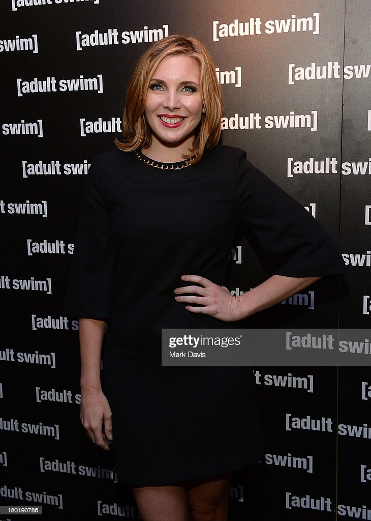 Actress <a gi-track='captionPersonalityLinkClicked' href=/galleries/search?phrase=June+Diane+Raphael&family=editorial&specificpeople=5923890 ng-click='$event.stopPropagation()'>June Diane Raphael</a> attends the 'Childrens Hospital' and 'NTSF:SD:SUV' screening event at the Vista Theatre on September 9, 2013 in Los Angeles, California. 24049_001_MD_0106.JPG