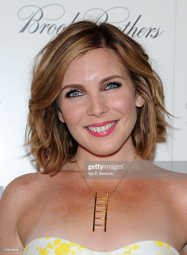 Actress <a gi-track='captionPersonalityLinkClicked' href=/galleries/search?phrase=June+Diane+Raphael&family=editorial&specificpeople=5923890 ng-click='$event.stopPropagation()'>June Diane Raphael</a> attends The Cinema Society & Brooks Brothers Host A Screening Of Lionsgate And Roadside Attractions' 'Girl Most Likely's at Landmark Sunshine Cinema on July 15, 2013 in New York City.