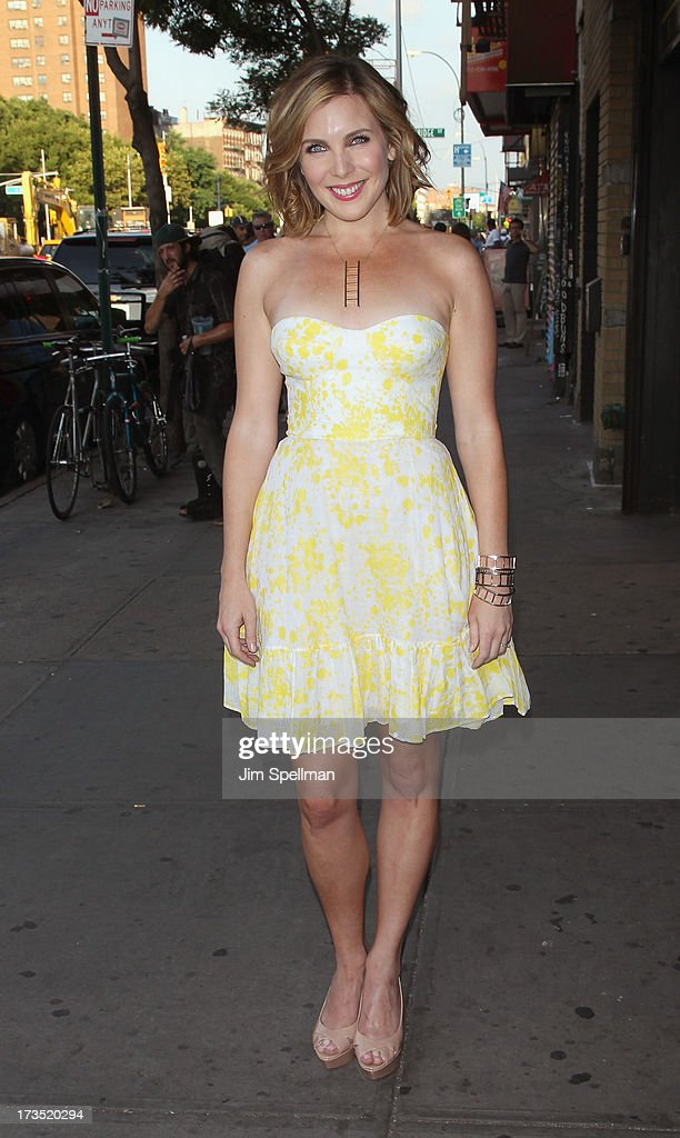 Actress June Diane Raphael attends the Lionsgate And Roadside Attractions With The Cinema Society Screening Of 'Girl Most Likely' at Landmark's Sunshine Cinema on July 15, 2013 in New York City.