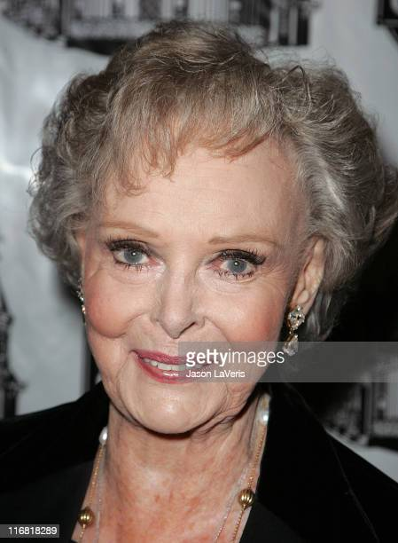 Actress June Lockhart attends the Academy of Magical Arts Awards at the Beverly Hilton Hotel on April 5 2008 in Beverly Hills California