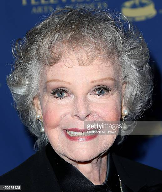 Actress June Lockhart attends the Daytime Creative Arts Emmy Awards Gala at the Westin Bonaventure Hotel on June 20 2014 in Los Angeles California