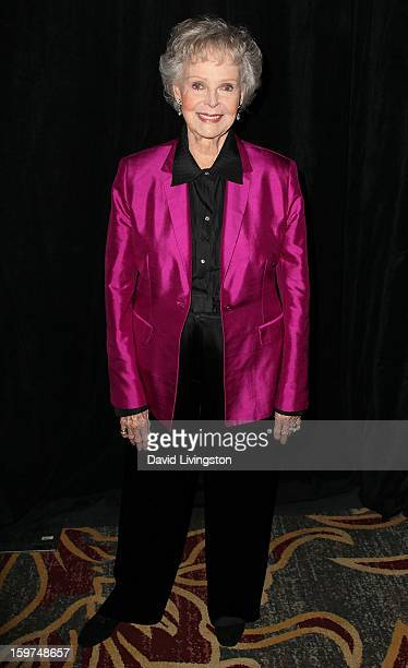Actress June Lockhart attends the Radio Television News Association of Southern California's 63rd Annual Golden Mike Awards at Universal City Hilton...