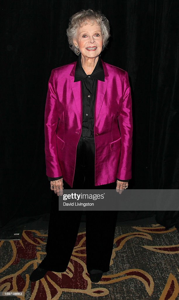 Actress June Lockhart attends the Radio & Television News Association of Southern California's 63rd Annual Golden Mike Awards at Universal City Hilton & Towers on January 19, 2013 in Universal City, California.