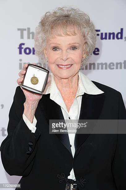 Actress June Lockhart attends the the Actors Fund's 17th annual Tony Awards viewing party at Taglyan Cultural Complex on June 9 2013 in Hollywood...