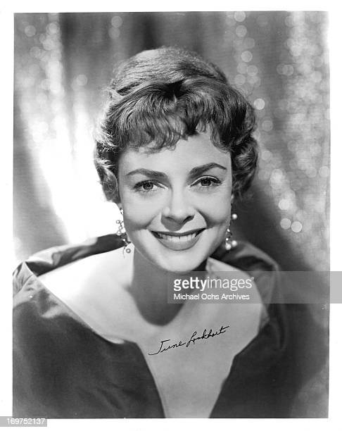 Actress June Lockhart poses for a portrait in circa 1955