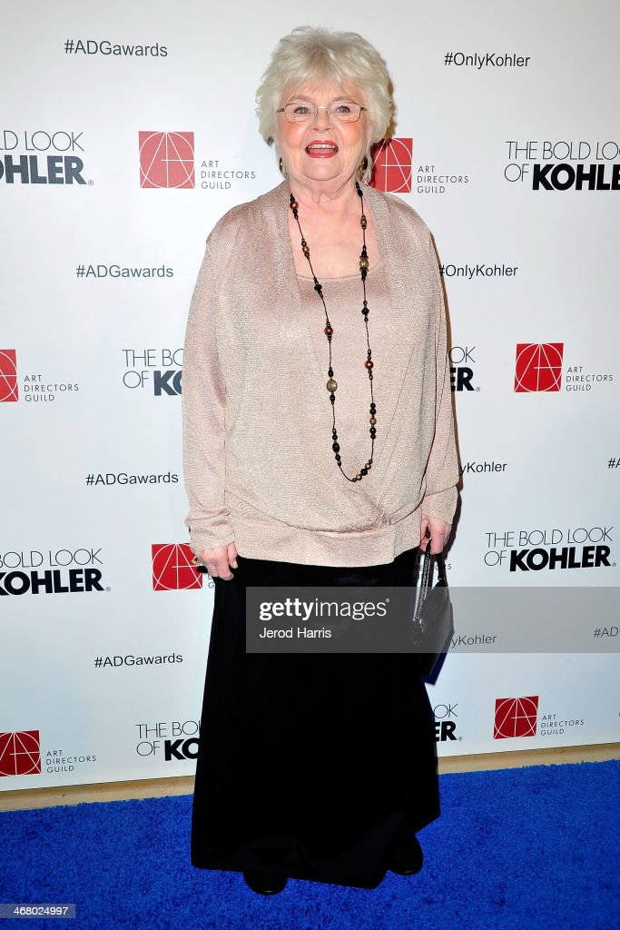 Actress <a gi-track='captionPersonalityLinkClicked' href=/galleries/search?phrase=June+Squibb&family=editorial&specificpeople=3089431 ng-click='$event.stopPropagation()'>June Squibb</a> arrives at the 18th Annual Art Directors Guild Excellence in Production Design Awards at The Beverly Hilton Hotel on February 8, 2014 in Beverly Hills, California.