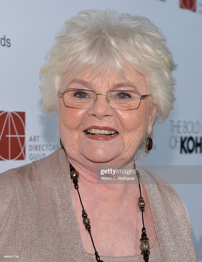 Actress <a gi-track='captionPersonalityLinkClicked' href=/galleries/search?phrase=June+Squibb&family=editorial&specificpeople=3089431 ng-click='$event.stopPropagation()'>June Squibb</a> arrives to the 18th Annual Art Directors Guild Exellence In Production Design Awards at The Beverly Hilton Hotel on February 8, 2014 in Beverly Hills, California.