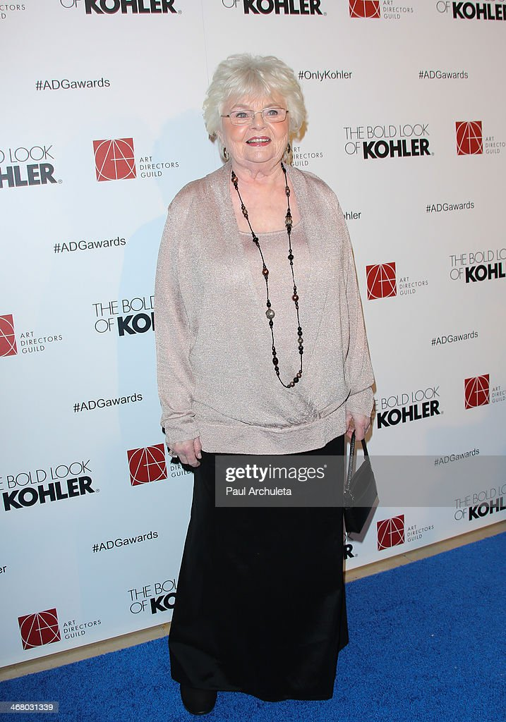Actress <a gi-track='captionPersonalityLinkClicked' href=/galleries/search?phrase=June+Squibb&family=editorial&specificpeople=3089431 ng-click='$event.stopPropagation()'>June Squibb</a> attends the 18th Annual Art Directors Guild Excellence In Production Design Awards at The Beverly Hilton Hotel on February 8, 2014 in Beverly Hills, California.