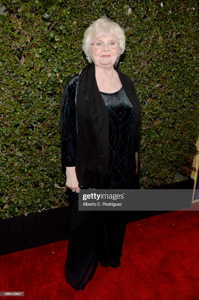 Actress <a gi-track='captionPersonalityLinkClicked' href=/galleries/search?phrase=June+Squibb&family=editorial&specificpeople=3089431 ng-click='$event.stopPropagation()'>June Squibb</a> attends the 2014 Writers Guild Awards L.A. Ceremony at J.W. Marriott at L.A. Live on February 1, 2014 in Los Angeles, California.