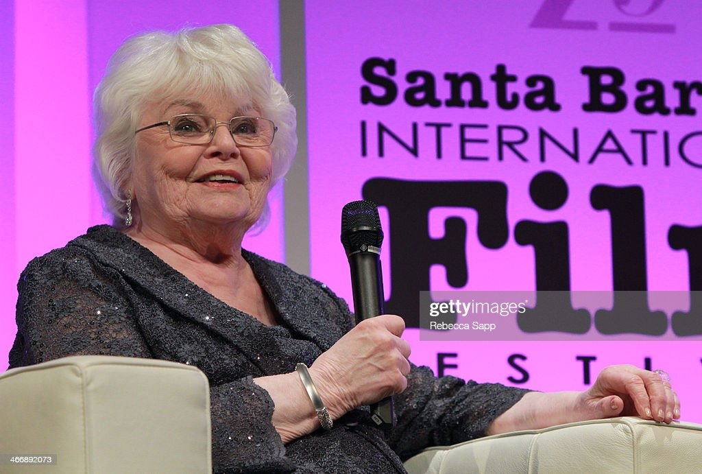 Actress <a gi-track='captionPersonalityLinkClicked' href=/galleries/search?phrase=June+Squibb&family=editorial&specificpeople=3089431 ng-click='$event.stopPropagation()'>June Squibb</a> attends the 29th Santa Barbara International Film Festival Virtuosos Award to Daniel Bruhl, Michael B. Jordan, Brie Larson, Jared Leto and <a gi-track='captionPersonalityLinkClicked' href=/galleries/search?phrase=June+Squibb&family=editorial&specificpeople=3089431 ng-click='$event.stopPropagation()'>June Squibb</a> February 4, 2014 in Santa Barbara, California.
