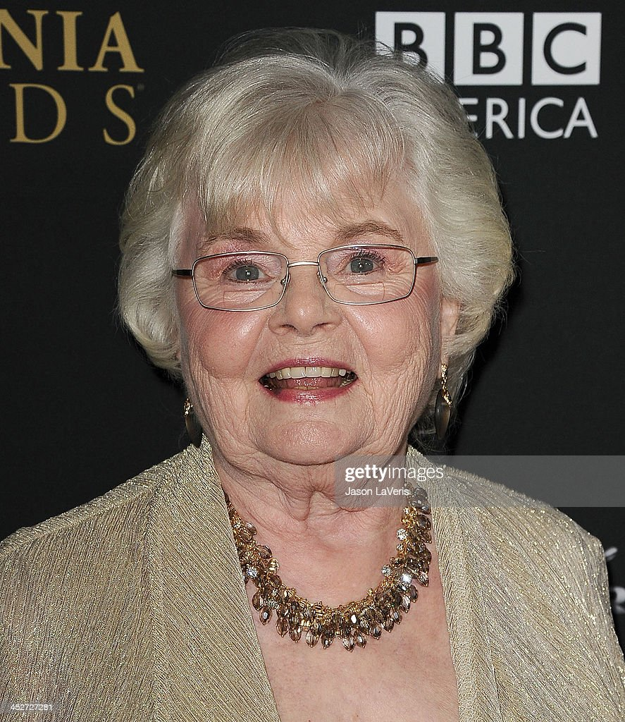 Actress <a gi-track='captionPersonalityLinkClicked' href=/galleries/search?phrase=June+Squibb&family=editorial&specificpeople=3089431 ng-click='$event.stopPropagation()'>June Squibb</a> attends the BAFTA Los Angeles Britannia Awards at The Beverly Hilton Hotel on November 9, 2013 in Beverly Hills, California.