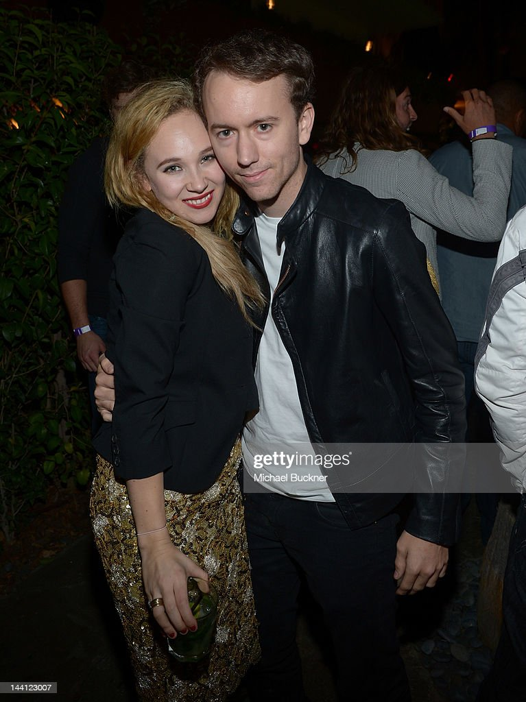 Actress Juno Temple and photographer Tyler Shields attends the NYLON Magazine and Tommy Girl Annual May Young Hollywood Issue Party at Hollywood...