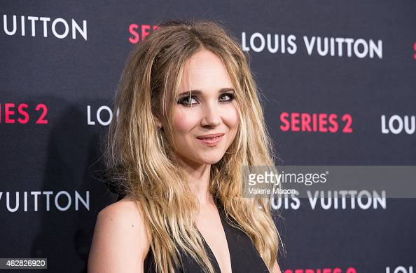 Actress Juno Temple arrives at Louis Vuitton 'Series 2' The Exhibition on February 5 2015 in Hollywood California
