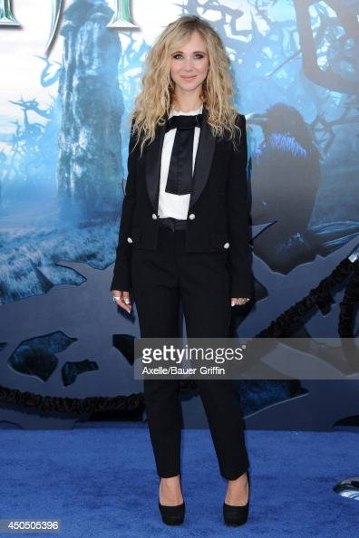 Actress Juno Temple arrives at the World Premiere of Disney's 'Maleficent' at the El Capitan Theatre on May 28 2014 in Hollywood California