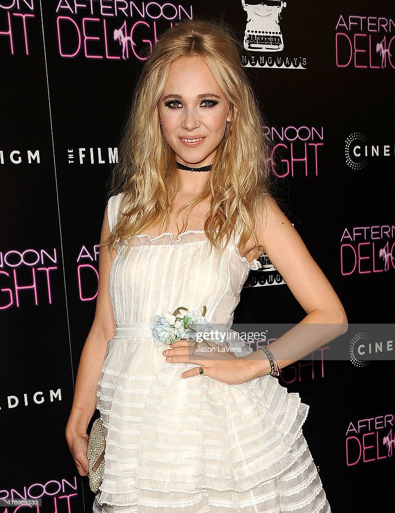 Actress <a gi-track='captionPersonalityLinkClicked' href=/galleries/search?phrase=Juno+Temple&family=editorial&specificpeople=4692912 ng-click='$event.stopPropagation()'>Juno Temple</a> attends the premiere of 'Afternoon Delight' at ArcLight Hollywood on August 19, 2013 in Hollywood, California.
