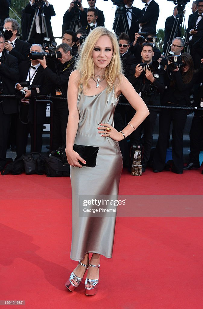 Actress Juno Temple attends the premiere of 'The Immigrant' at The 66th Annual Cannes Film Festival on May 24, 2013 in Cannes, France.