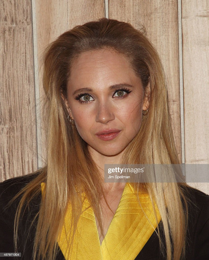 Actress Juno Temple attends the RADiUS TWC and The Cinema Society New York Premiere of 'Horns' after party at Jimmy At The James Hotel on October 27...