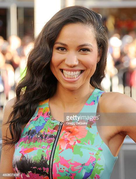 Actress Jurnee Smollett arrives at HBO's 'True Blood' final season premiere at TCL Chinese Theatre on June 17 2014 in Hollywood California