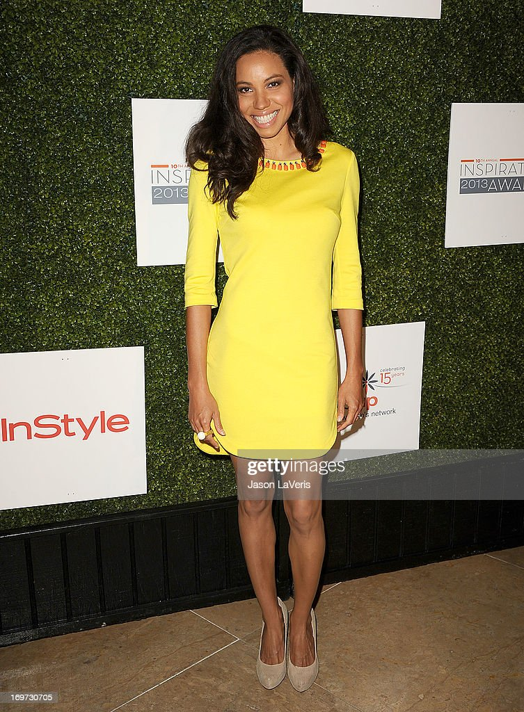 Actress <a gi-track='captionPersonalityLinkClicked' href=/galleries/search?phrase=Jurnee+Smollett&family=editorial&specificpeople=614220 ng-click='$event.stopPropagation()'>Jurnee Smollett</a> attends Step Up Women's Network 10th annual Inspiration Awards at The Beverly Hilton Hotel on May 31, 2013 in Beverly Hills, California.