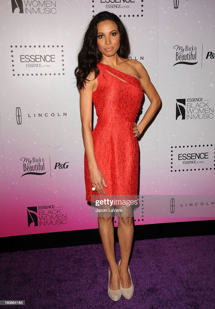 Actress Jurnee Smollett attends the 4th annual ESSENCE Black Women In Music event at Greystone Manor Supperclub on February 6, 2013 in West Hollywood, California.