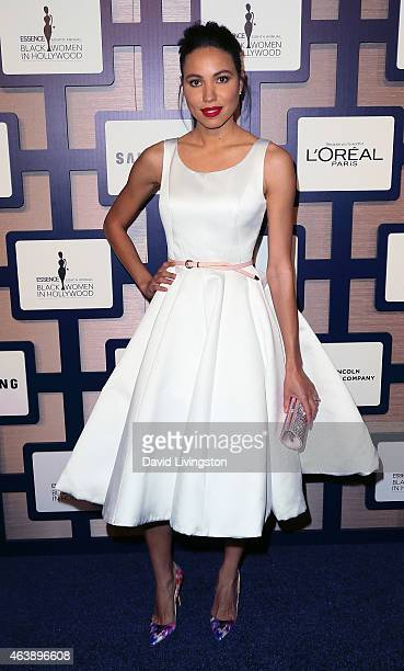 Actress Jurnee Smollett attends the 8th Annual ESSENCE Black Women In Hollywood Luncheon at the Beverly Wilshire Four Seasons Hotel on February 19...