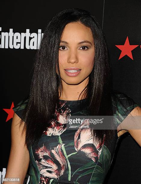Actress Jurnee Smollett attends the Entertainment Weekly celebration honoring nominees for the Screen Actors Guild Awards at Chateau Marmont on...