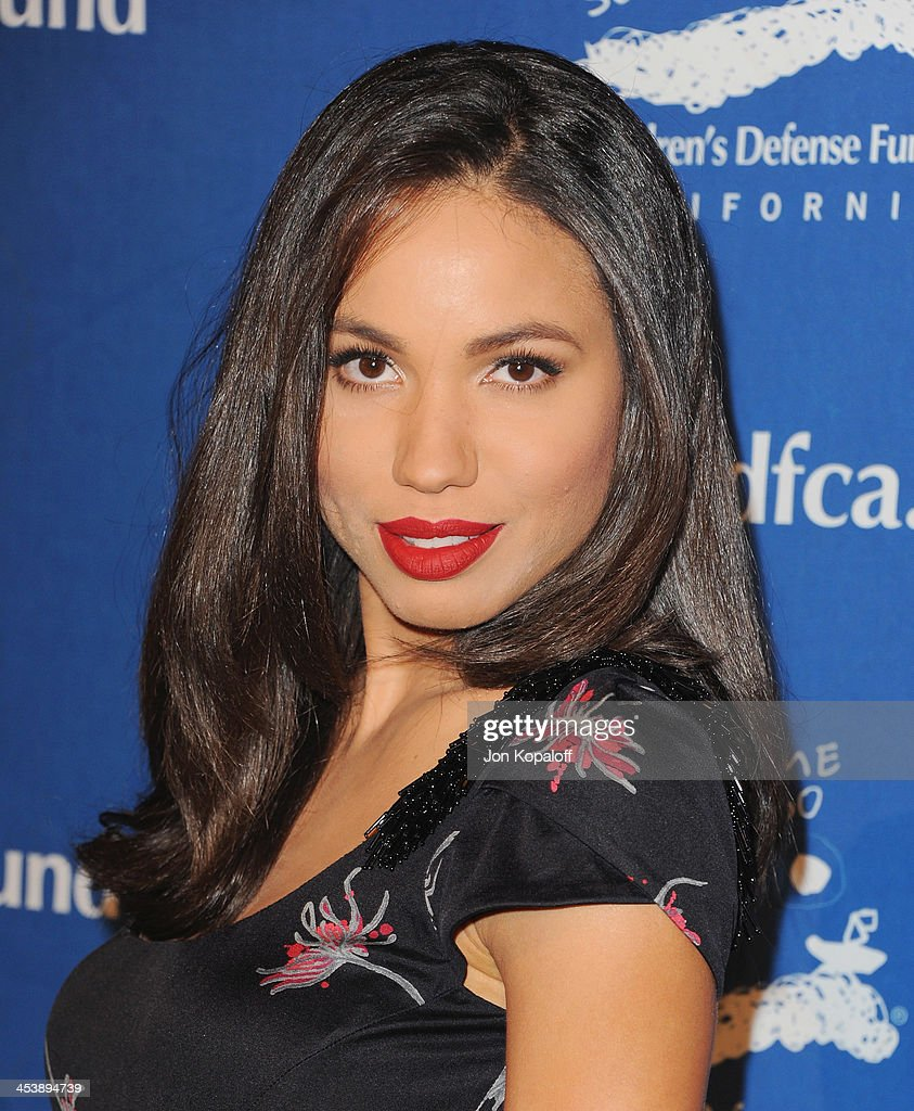 Actress Jurnee Smollett-Bell arrives at the Children's Defense Fund 23rd Annual Beat The Odds Awards at Beverly Hills Hotel on December 5, 2013 in Beverly Hills, California.