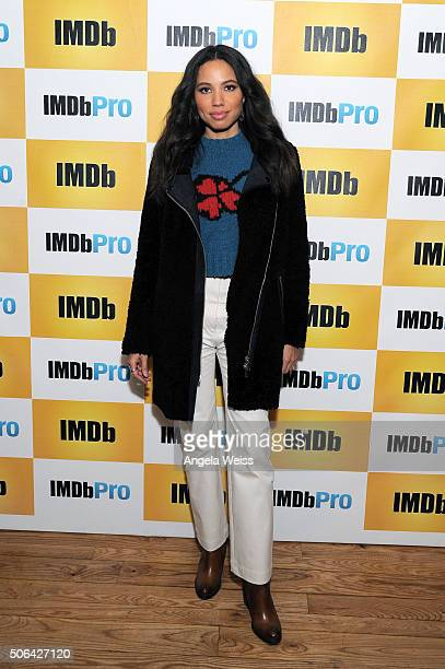 Actress Jurnee SmollettBell in The IMDb Studio In Park City Utah Day Two on January 23 2016 in Park City Utah