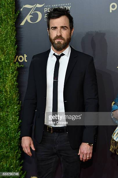 Actress Justin Theroux attends The 75th Annual Peabody Awards Ceremony at Cipriani Wall Street on May 20 2016 in New York City