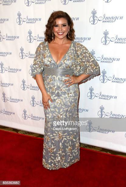 Actress Justina Machado attends the 32nd Annual Imagen Awards at the Beverly Wilshire Four Seasons Hotel on August 18 2017 in Beverly Hills California
