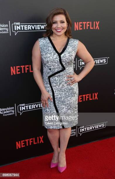 Actress Justina Machado attends The Power of TV A Conversation with Norman Lear and One Day at a Time presented by the Television Academy Foundation...