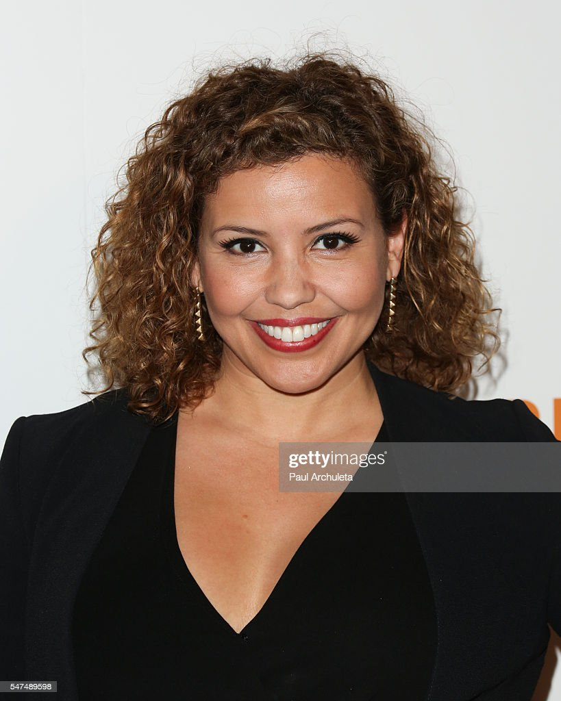 Actress Justina Machado attends the premiere 'Norman Lear: Just Another Version Of You' at The WGA Theater on July 14, 2016 in Beverly Hills, California.