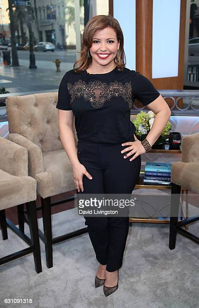 Actress Justina Machado visits Hollywood Today Live at W Hollywood on January 6 2017 in Hollywood California