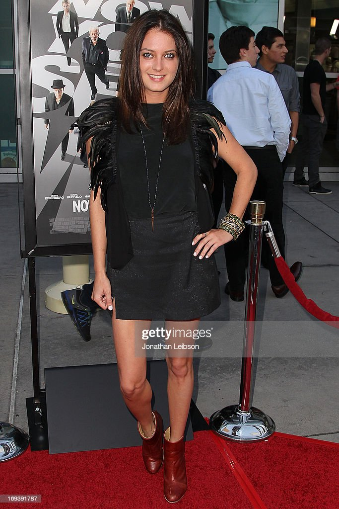 Actress Justine Wachsberger attends the 'Now You See Me' - Los Angeles Special Screening at ArcLight Hollywood on May 23, 2013 in Hollywood, California.