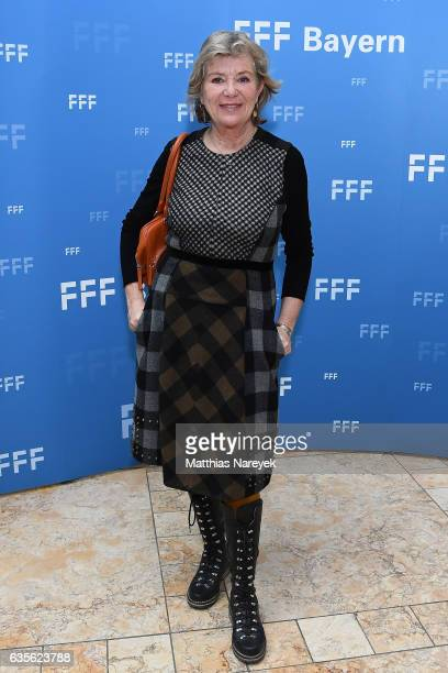 Actress Jutta Speidel attends the FFF Reception 2017 during the 67th Berlinale International Film Festival on February 16 2017 in Berlin Germany