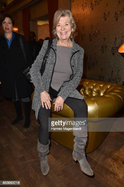 Actress Jutta Speidel during the NdF after work press cocktail at Parkcafe on March 15 2017 in Munich Germany