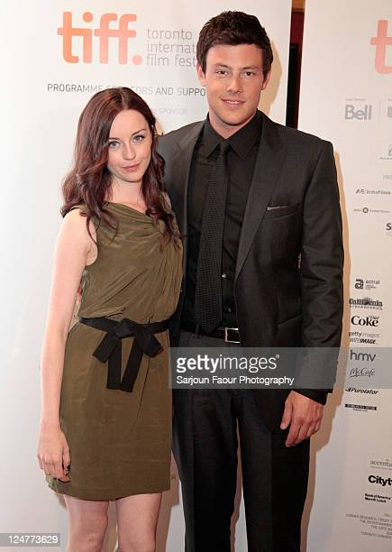 Actress Kacey Rohl and actor Cory Monteith attend the premiere of 'Sisters Brothers' at AMC Yonge Dundas 24 theater during the 2011 Toronto...