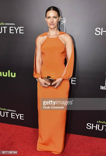 Actress KaDee Strickland attends the premiere of Hulu's 'Shut Eye' at ArcLight Hollywood on December 1 2016 in Hollywood California