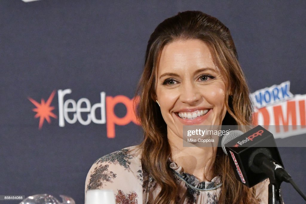 Actress KaDee Strickland participates in Hulu's Shut Eye panel at New York Comic Con at Jacob Javits Center on October 6, 2017 in New York City.