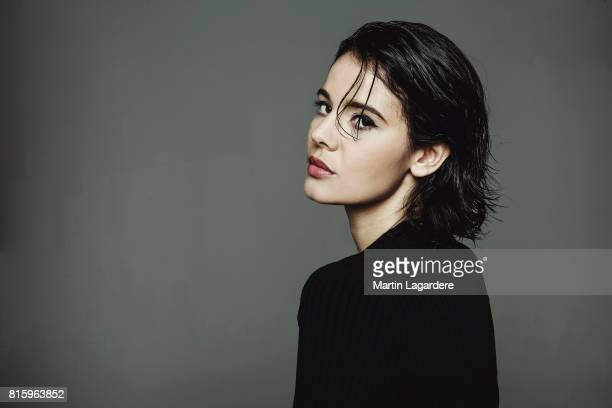 Actress Kahina Carina is photographed for Self Assignment on November 27 2016 in Paris France