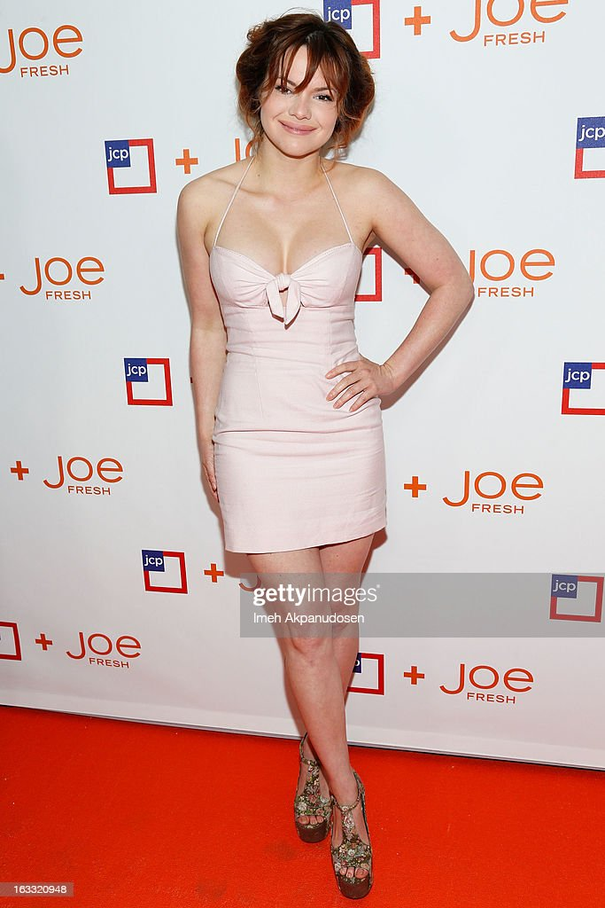 Actress Kaili Thorne attends the Joe Fresh at jcp Pop Up event on March 7, 2013 in Los Angeles, California.