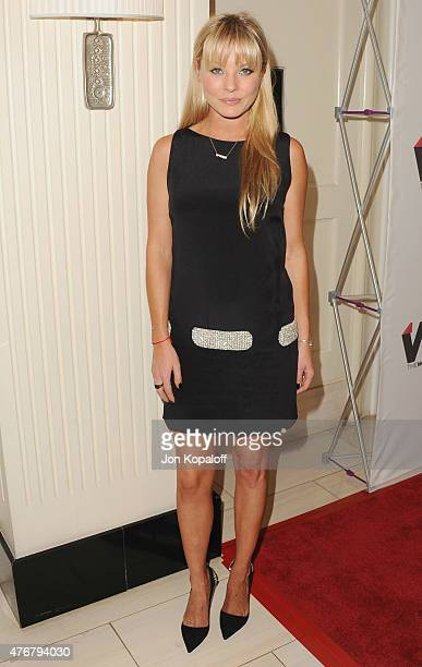 Actress Kaitlin Doubleday arrives at TheWrap's 2nd Annual Emmy Party at The London on June 11 2015 in West Hollywood California