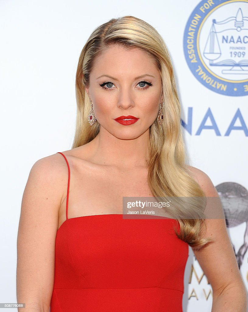 Actress Kaitlin Doubleday attends the 47th NAACP Image Awards at Pasadena Civic Auditorium on February 5, 2016 in Pasadena, California.