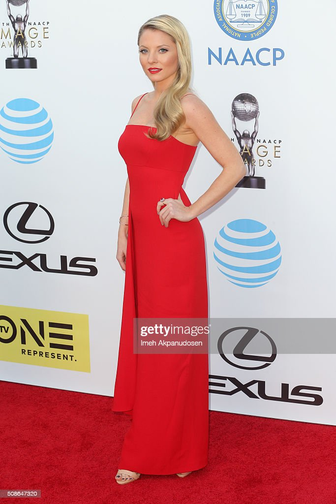 Actress Kaitlin Doubleday attends the 47th NAACP Image Awards presented by TV One at Pasadena Civic Auditorium on February 5, 2016 in Pasadena, California.