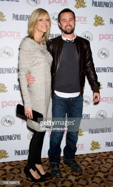 Actress Kaitlin Olson and husband actor/executive producer Rob McElhenney of 'It's Always Sunny In Philadelphia' attend Philadelphia Style's 'The...
