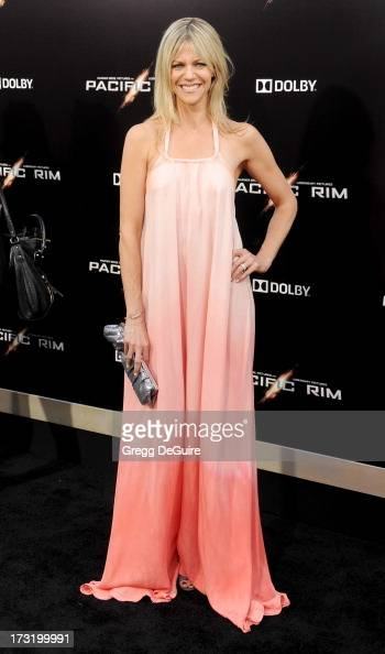 Actress Kaitlin Olson arrives at the Los Angeles premiere of 'Pacific Rim' at Dolby Theatre on July 9 2013 in Hollywood California