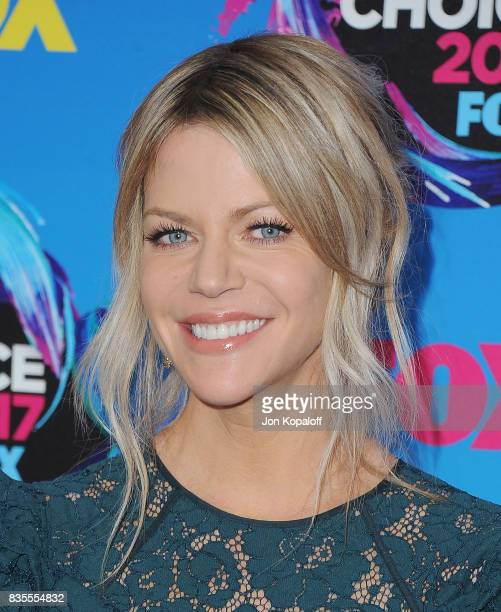 Actress Kaitlin Olson arrives at the Teen Choice Awards 2017 at Galen Center on August 13 2017 in Los Angeles California