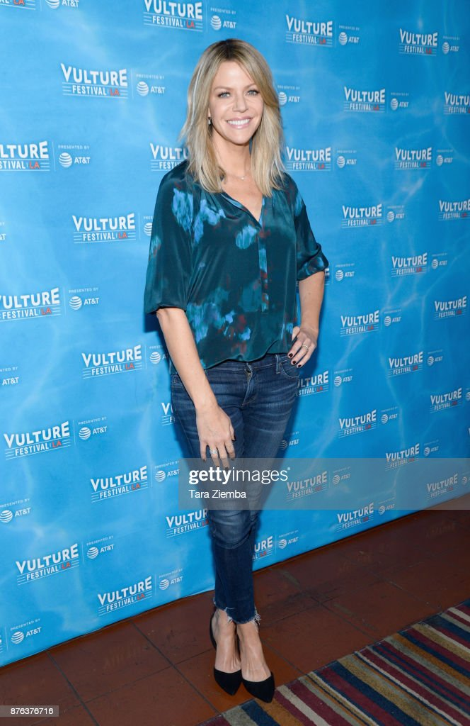 Actress Kaitlin Olson attends It's Always Sunny In Philadelphia panel during Vulture Festival Los Angeles at Hollywood Roosevelt Hotel on November 19, 2017 in Hollywood, California.