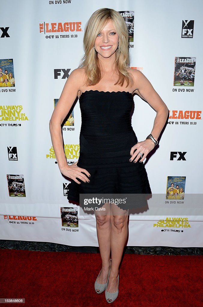 Actress Kaitlin Olson attends the FX season premiere screenings for 'It's Always Sunny In Philadelphia' and 'The League' at ArcLight Cinemas Cinerama Dome on October 9, 2012 in Hollywood, California.