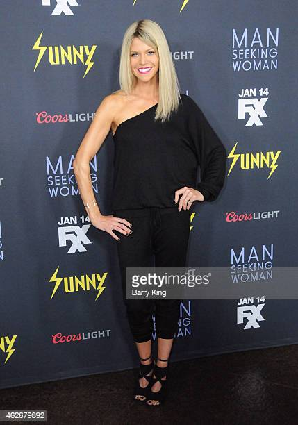 Actress Kaitlin Olson attends the premiere of FXX's 'It's Always Sunny In Philadelphia' and 'Man Seeking Woman' at The DGA Theater on January 13 2015...